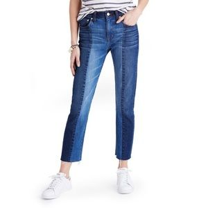 Madewell high rise straight leg cruiser jeans